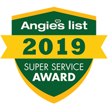 Angie's List Super Service Award Winner!